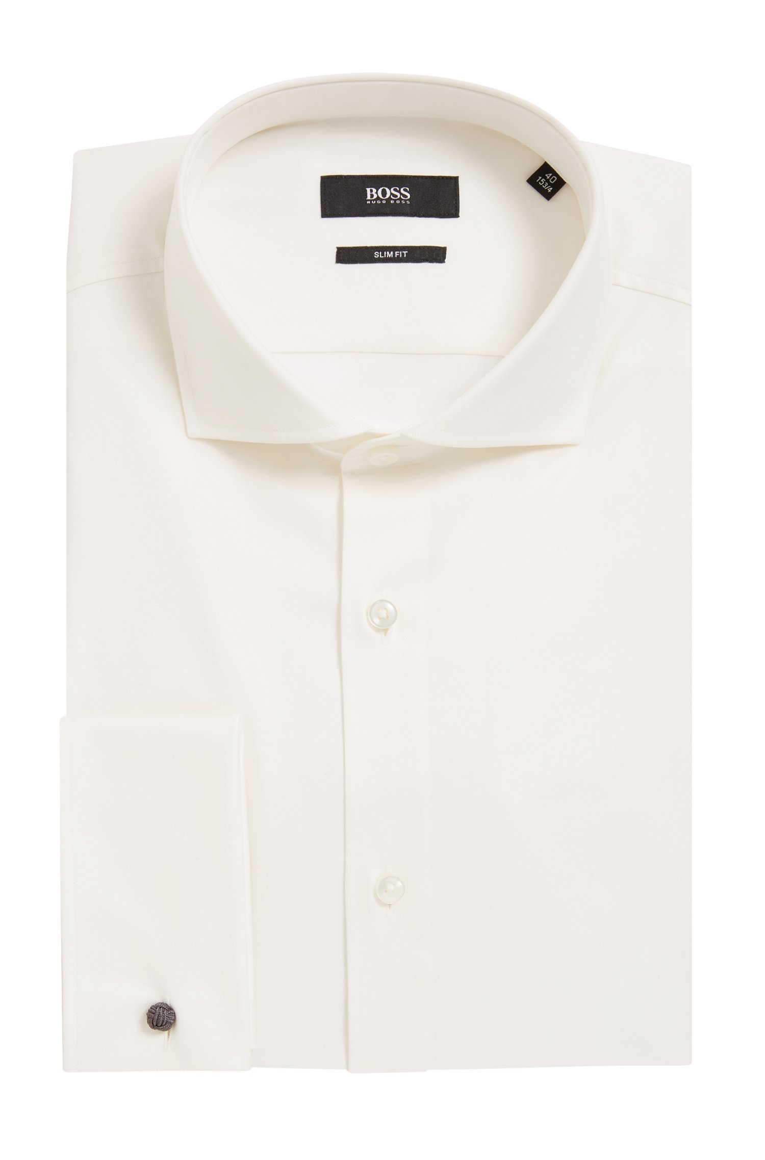 Piet Zoomers, Boss Black dress shirt