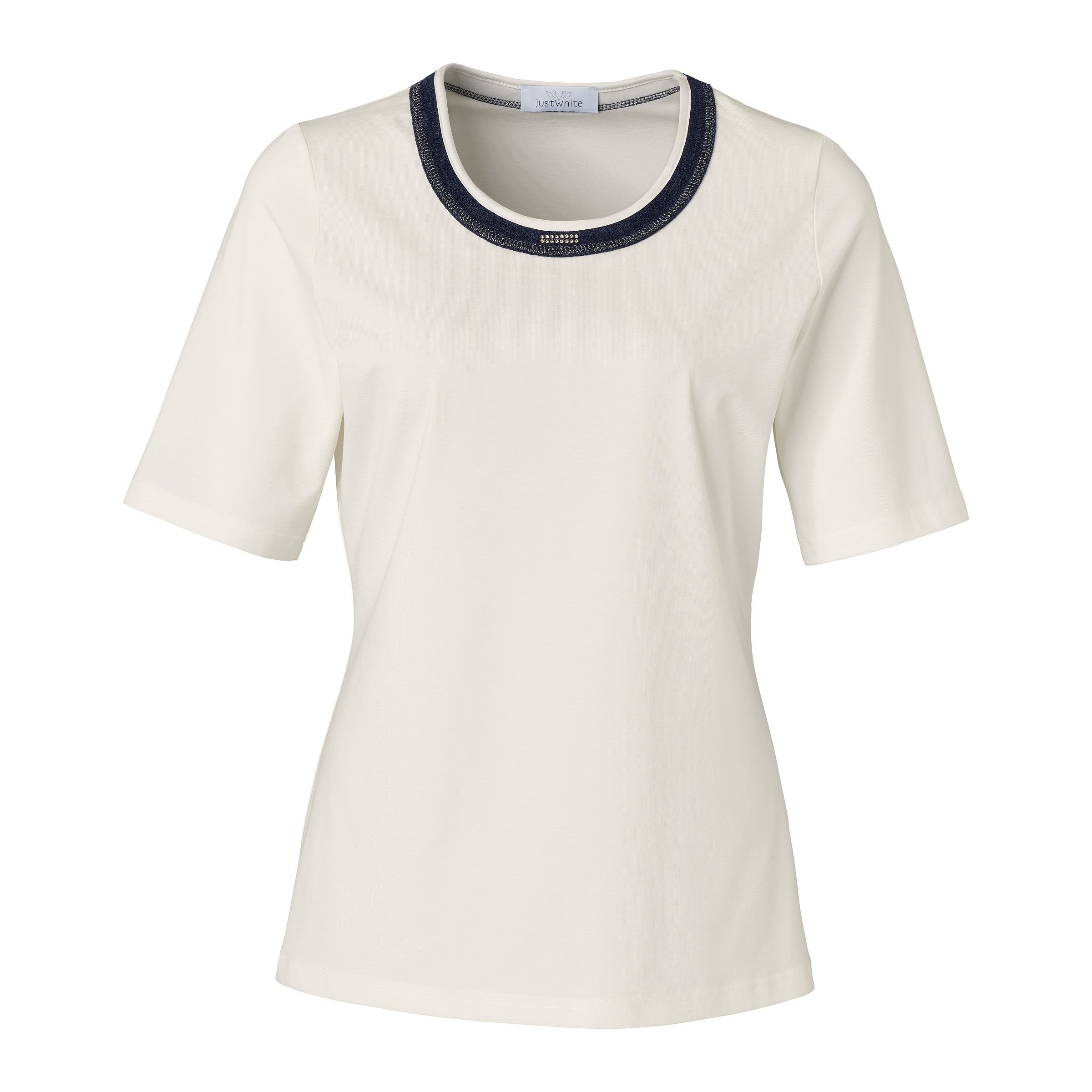 Piet Zoomers Se Just White Dames T shirt