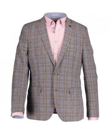 State of Art Blazer Y/D Checked -