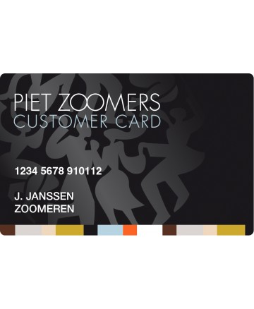 Piet Zoomers CustomerCard