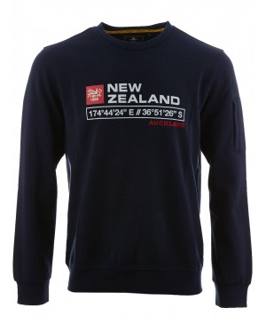 New Zealand Auckland heren sweater