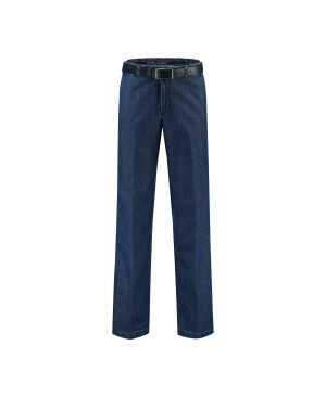 COM4 Trousers Flat Front Denim