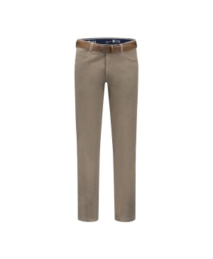 COM4 Trousers Trousers Swing Front Basic Cotton