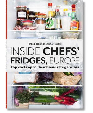 Taschen boek - Inside chefs's fridges, europe