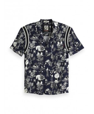 Scotch & Soda Heren Overhemd