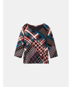 Sandwich dames blouse