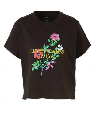 Levi's dames cropped t-shirt