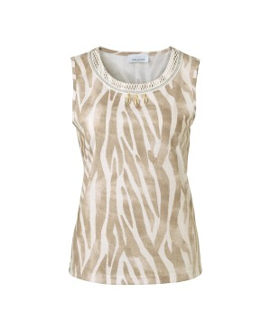 Just White dames top