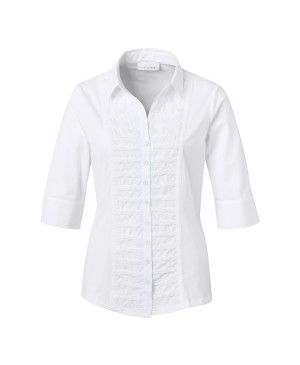 Se Just White Dames blouse