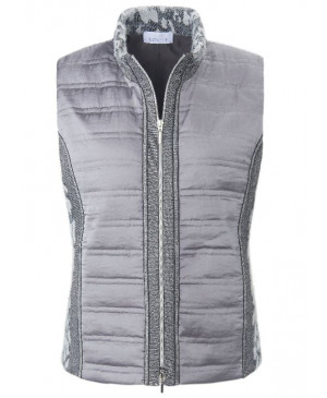 Just White Dames bodywarmer
