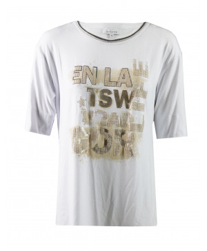 Just White dames T-shirt