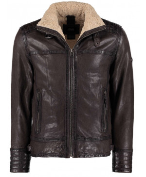 DNR Brown leather jacket