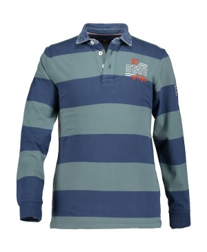 State of Art Rugbyshirt Striped -