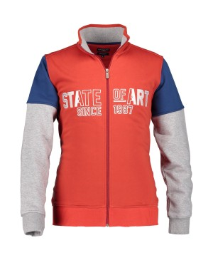 State of Art Sweat Cardigan Colou