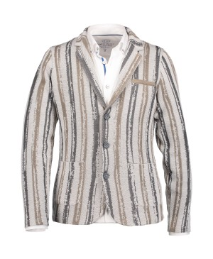 State of Art Cardigan Striped - B