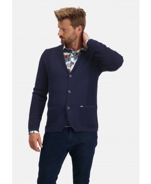 State of Art Cardigan Plain - Bla