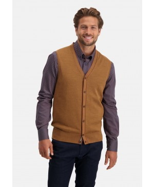 State of Art Knitted Gilet Plain